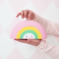 Tirelire Arc-en-Ciel - Multicolore