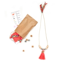 Mini kit collier - Rose