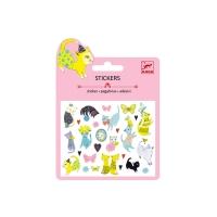 Mini stickers Glitter - Chats