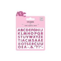 Mini stickers Lettres Brillantes