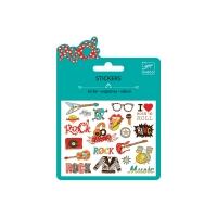 Mini stickers Pop & Rock