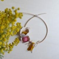 Mobile décoratif fleurs Avril - Curry