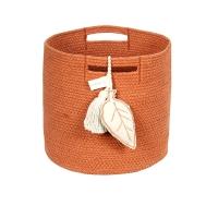 Panier de rangement Leaf - Terracotta