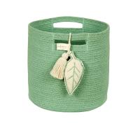 Panier de rangement Leaf - Vert