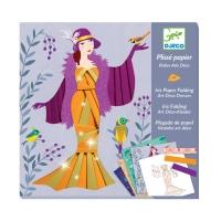 Papier Plisse - Robes Art Déco