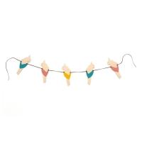 Guirlande Perroquets - Multicolore