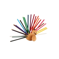 Porte-crayons Peacock - Hêtre