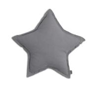 Petit coussin Etoile - Gris stone