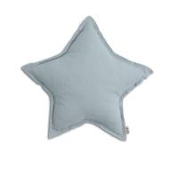 Petit coussin Etoile - Bleu clair