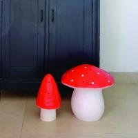 Veilleuse petite lampe Champignon - Rouge