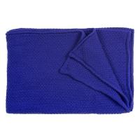 Plaid tricoté - Indigo