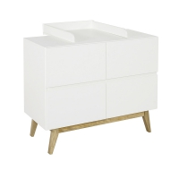 Plan à langer Extension de commode Trendy - Blanc