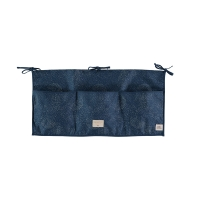 Pochette de rangement Merlin bubble Elements - Bleu marine