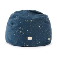 Pouf enfants Balloon stella Elements - Bleu marine