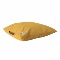 couverture bou en tricot jaune ceylan rose in april pour chambre enfant les enfants du design. Black Bedroom Furniture Sets. Home Design Ideas