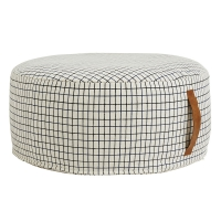 Pouf Sit On Me rond - Blanc