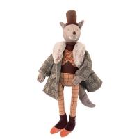 Peluche Poupée Loup le Gentleman - Il était une fois