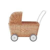 Landau Chariot poupées Strolley - Naturel