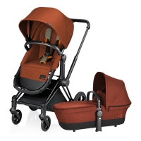 Poussette PRIAM Light 2 en 1 Autumn Gold - Brique