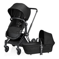 Poussette PRIAM Light 2 en 1 Happy Black - Noir