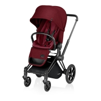 Poussette PRIAM Luxe Infra Red - Bordeaux