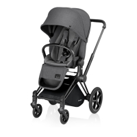 Poussette PRIAM Luxe Midnight Grey - Gris