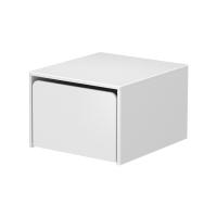 Petit rangement 1 coffre - Blanc