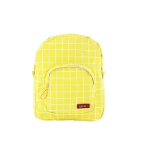 Sac à Dos Mini Canvas Kotak Yellow - Jaune fluo
