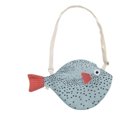Petit sac à main Pufferfish - Vert tropical