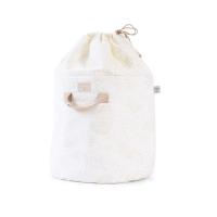 Sac de rangement Bamboo S bubble Elements - Blanc