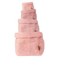 Sac en papier S, M, L ou XL - Rose Quartz