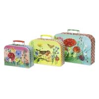 Set de 3 valises en carton Nathalie Lété