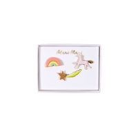 Pins Licorne et Arc-En-Ciel