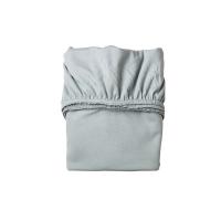 Lot de 2 draps housses pour berceau Leander - Bleu pâle