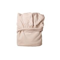 Lot de 2 draps housses pour berceau Leander - Rose pâle
