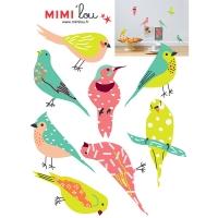 Sticker Just A Touch Colonie d'Oiseaux