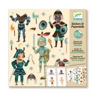 Stickers & Paperdolls - Les Chevaliers