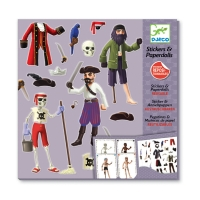 Stickers & Paperdolls - Les Pirates