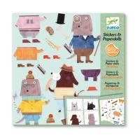 Stickers & Paperdolls - Mes Copains Les Chiens