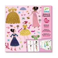 Stickers & Paperdolls - Robes des 4 saisons