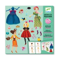 Stickers & Paperdolls - Trop mode
