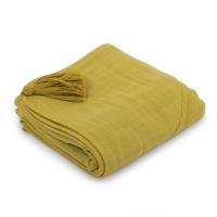SYBEL cape de bain en mousseline - Verveine