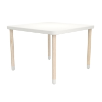 Table de jeu - Blanc