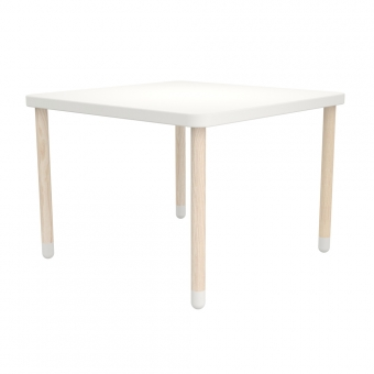 table de jeux blanc flexa play pour chambre enfant les enfants du design. Black Bedroom Furniture Sets. Home Design Ideas