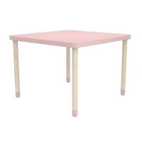 Table de jeu - Rose poudré