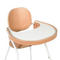 Tablette pour chaise évolutive Tibu - Hêtre/blanc