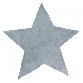 Tapis etoile poils courts gris clair pilepoil pour for Tapis gris clair poil ras