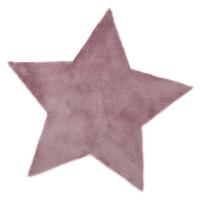 Tapis Etoile - Mauve grisé