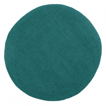 tapis kali 120 cm bleu canard muskhane pour chambre enfant les enfants du design. Black Bedroom Furniture Sets. Home Design Ideas