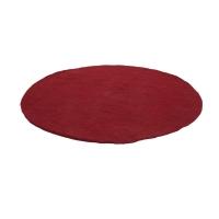 Tapis Kali en feutre 120 cm - Rouge